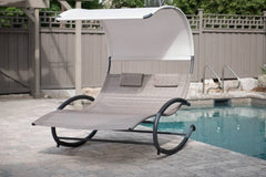 Vivere Double Chaise Rocker - Lounger | Hamikk.com