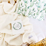 White double gauze cotton wrap