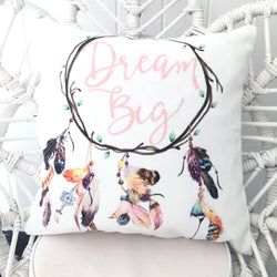 Single dream big dreamcatcher cushion cover