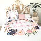 Hello beautiful double quilt cover