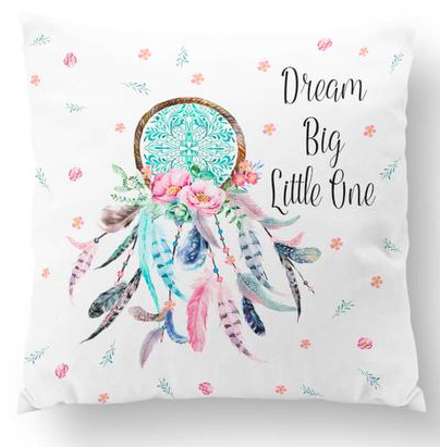 Dreamcatcher with quote european cushion cover