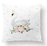 Swan floor cushion