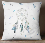 Blue and grey dreamcatcher european cushion cover