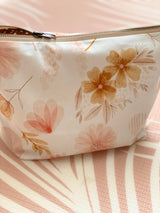 Charlie floral nappy clutch