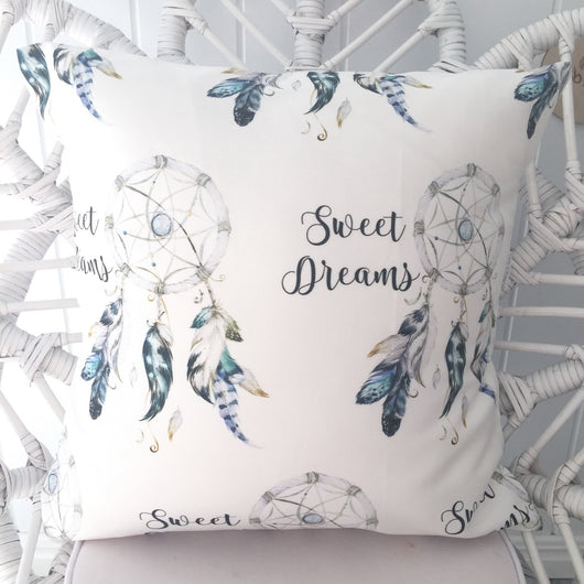Sweet dreams dreamcatcher cushion cover