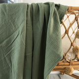 Sage double gauze cotton wrap