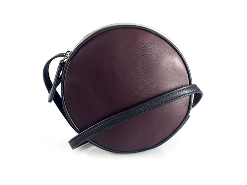 Kew - Double Zip Circular Bag