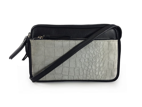Ravenscourt - Double Zip Crossbody