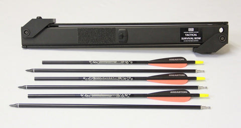 3 Pack of SAS Take-down Arrows 31 inch 400 Spine - One week backorder