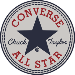 Logo converse basse noire homme all star