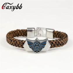 72hàPrixCoûtant Bracelet Bracelet Game The Legend Of Zelda façon cuir