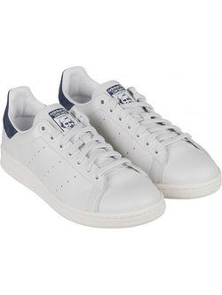 Adidas Originals Stan Smith chaussure couleur blanc / bleu navy - 72h PrixCoûtant