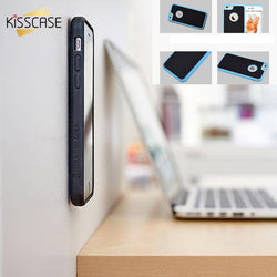 KISSCASE Stylish Fashion Anti Gravity Phone Case For iPhone 7 6 6s Plus 5 s SE Samsung Galaxy S7 S6 Edge Silicone TPU Cover Capa - €5.99 | 72 h Prix Coûtant accessoire smartphone
