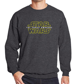 Sweat hommes gris en coton motif Star Wars