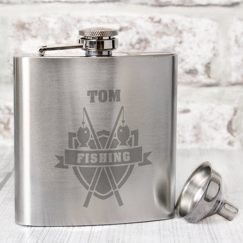 Buy Personalised Sport Design Hip Flasks £7.99 at Gift Moments
