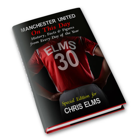 Buy Personalised Manchester United FC On This Day Book £10.99 at Gift Moments