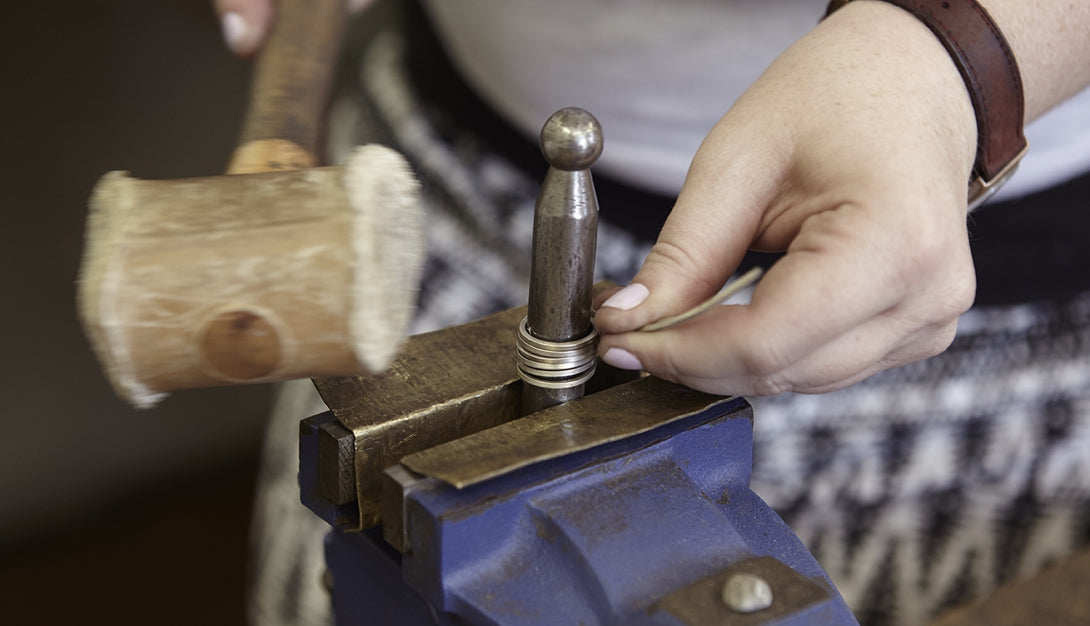 Creating a hand made ring