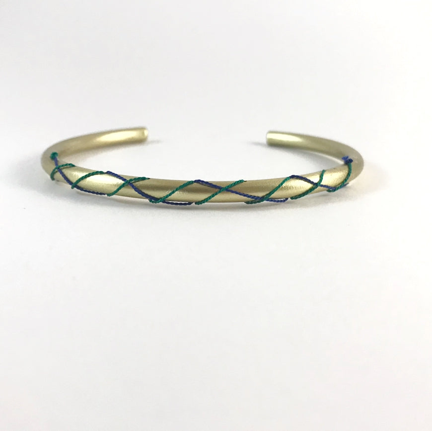 Woven Together Bangle