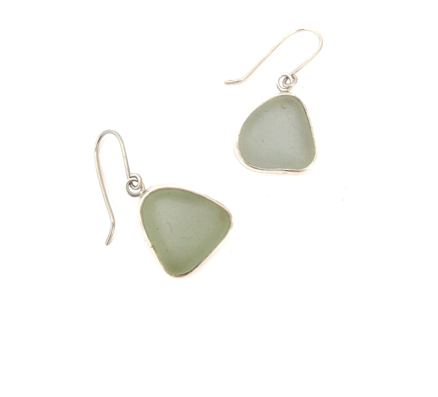 Classic Sea-Glass Earrings