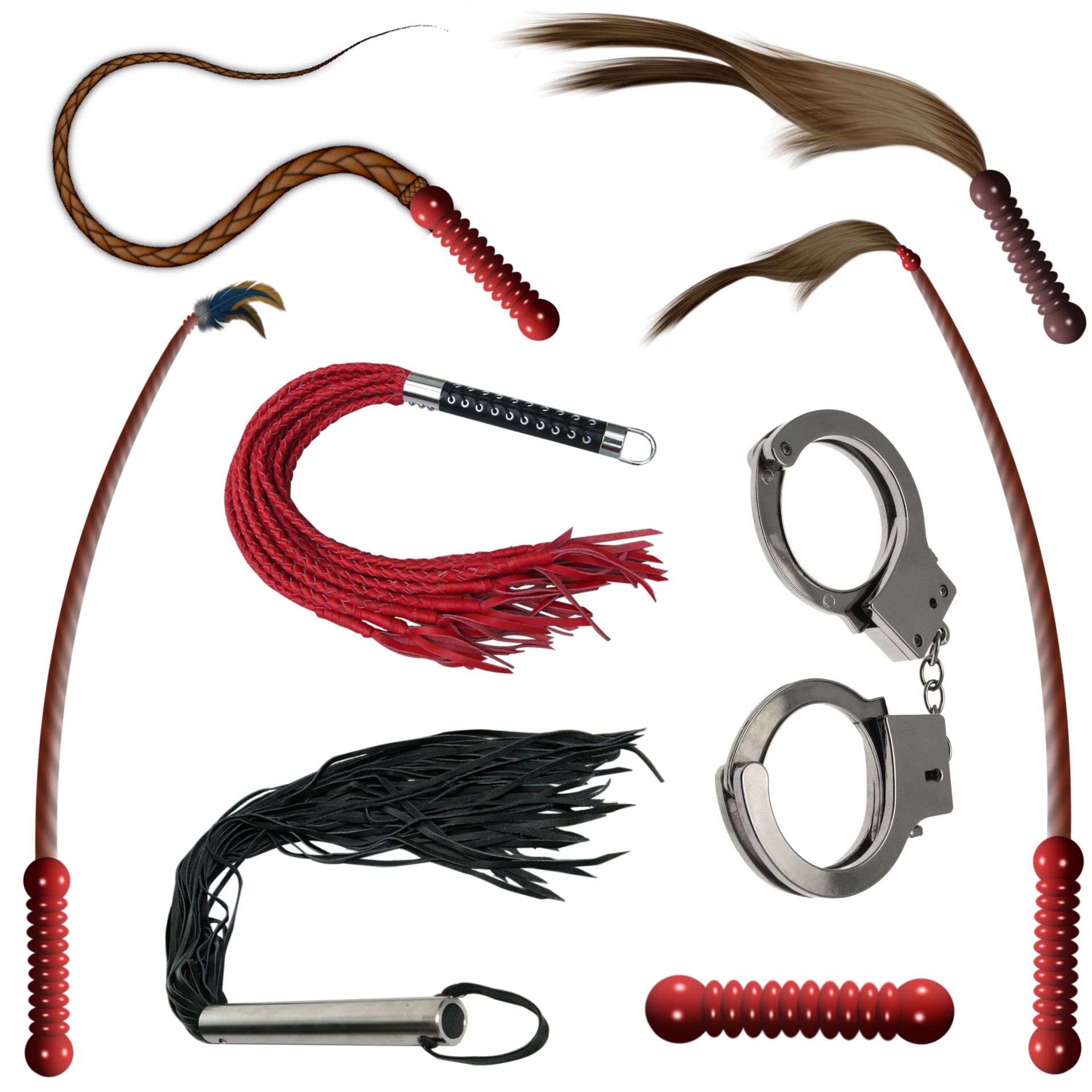Handcuffs and Whips Kinky Sex Toys