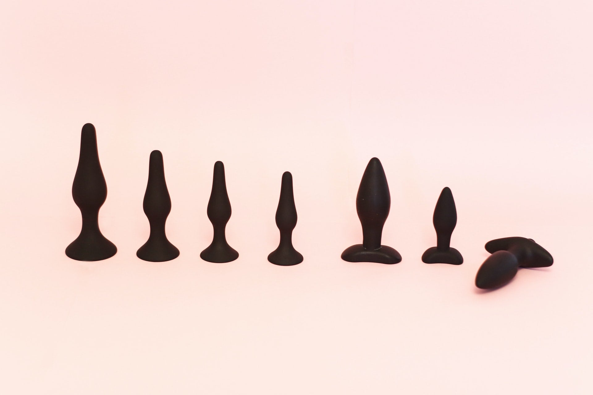 Silicone Anal Trainer Kit Toys