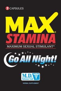 Max Stamina Sex Enhancer