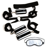 Black Restraint Kit Bondage