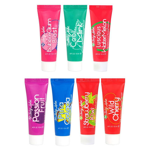 Different Flavored Juicy Lubes Tubes