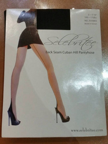 Selebritee Backseam Cuban hill Pantyhose