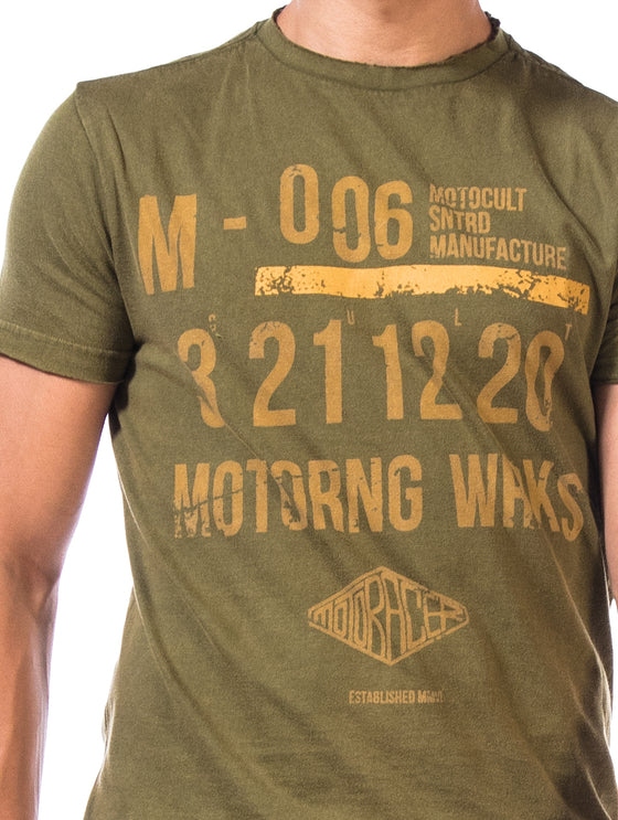 Printed T-Shirt- Motoring Works