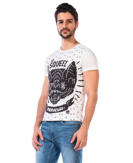 Printed T-Shirt- No Squeel