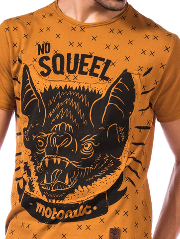 Printed T-Shirt-No Squeel