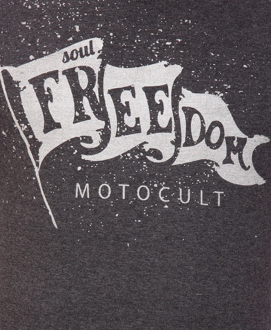 Printed T-Shirt-Freedom Motocult