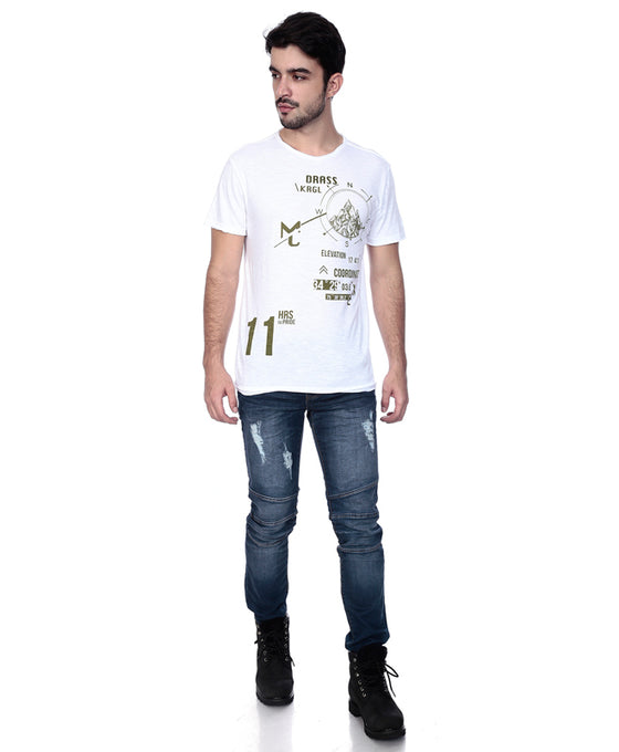 Printed T-Shirt- Drass War