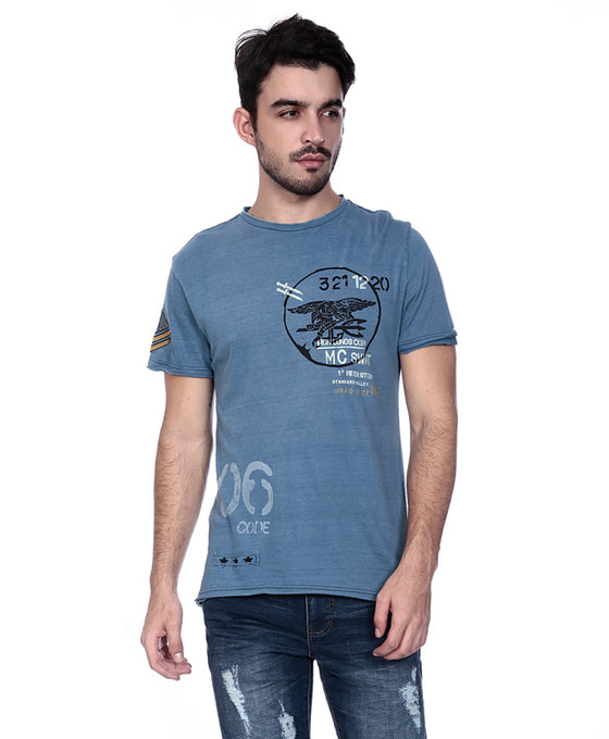 Printed T-Shirt- Aeronautic Core
