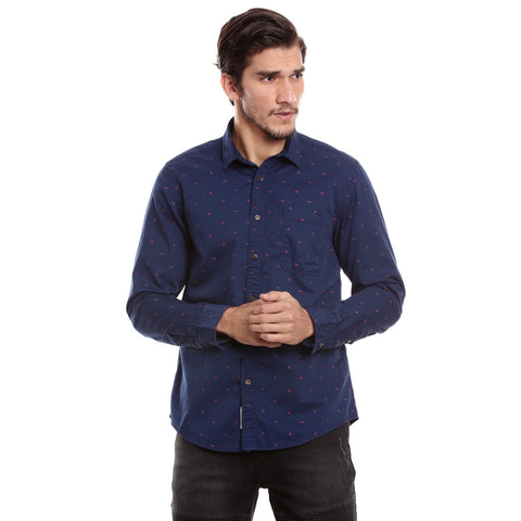 MOTOCULT  Men Navy   Shirt