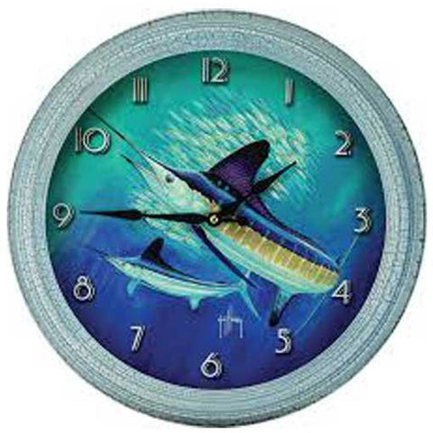 Assorted Guy Harvey Wall Clocks - 15 Inch