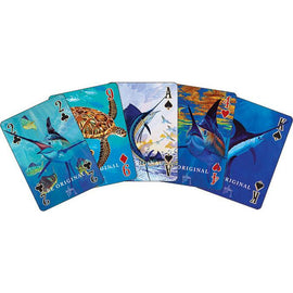 Guy Harvey Playing Cards Gift Set With Dice In Tin *Clearance* - Ghillie Outdoors Hunting & Fishing