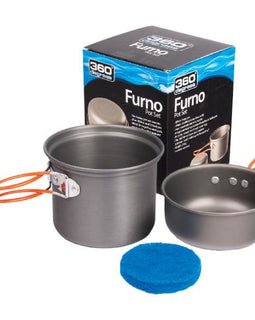 360 DEGREES Furno Pot Set - Ghillie Outdoors Hunting & Fishing