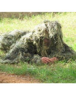 Ghillie Suit Hunting Sniper Paintball Camo Costume - Adult FREE SHIPPING - Ghillie Outdoors Hunting & Fishing