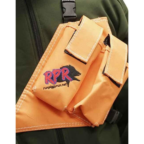 RPR GPS/UHF HOLSTER DOUBLE ORANGE **FREE SHIPPING AUST WIDE**