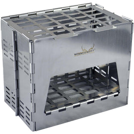 Winnerwell Backpack Stove Stainless Steel - FREE SHIPPING - Pre-Order - Arriving 20/06/20 - Ghillie Outdoors Hunting & Fishing