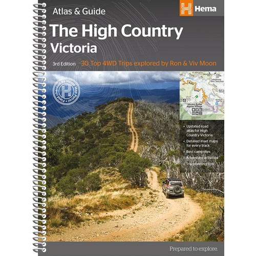 Hema Victorian High Country Atlas and Guide 3rd Edition - Ghillie Outdoors Hunting & Fishing