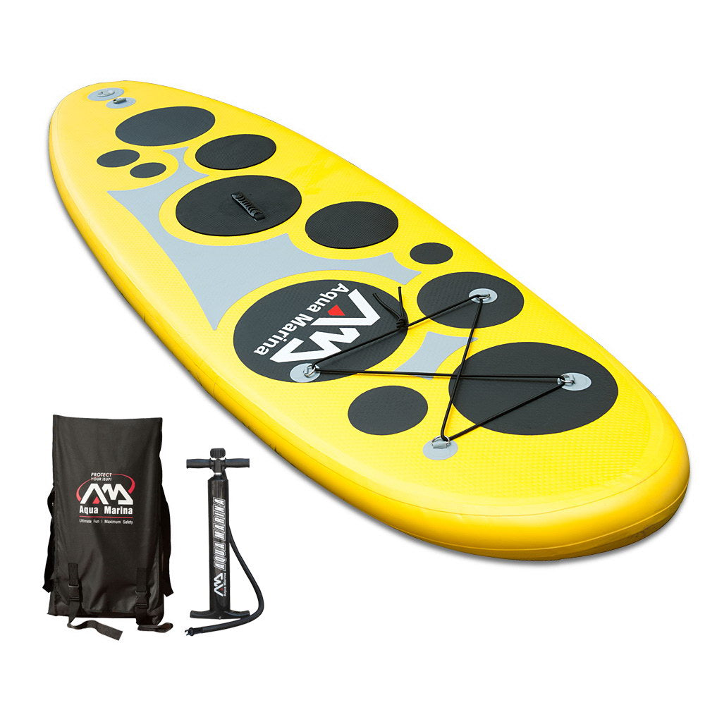 Aqua Marina 1 Person Inflatable Stand-up Paddle Board *Free Shipping*