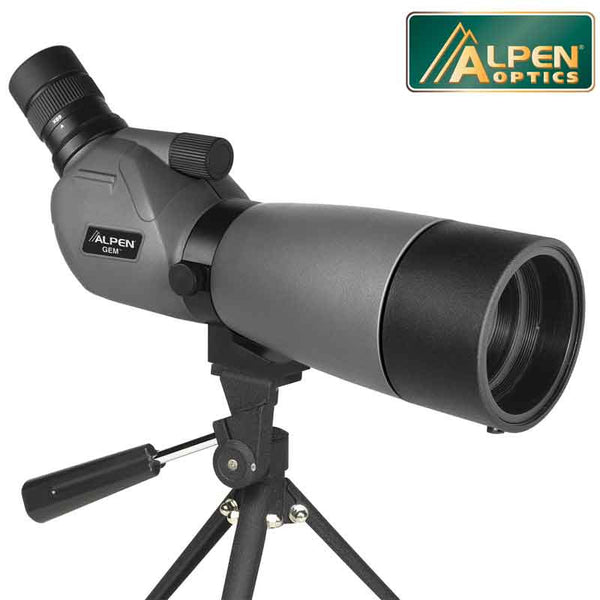 Alpen Gem Spotting Scope 20-60x60 - Ghillie Outdoors Hunting & Fishing
