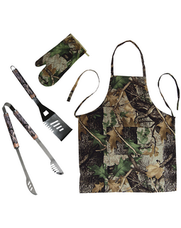 Rivers Edge Camo BBQ Tool Set - Ghillie Outdoors Hunting & Fishing