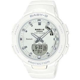 CASIO BABY-G STEPTRACKER WHITE BSAB100-7A