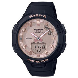 CASIO BABY-G STEPTRACKER BLACK BSAB100MF-1A
