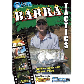 AFN BARRA TACTICS FISHING DVD HOW TO GUIDE *FREE SHIPPING* - Ghillie Outdoors Hunting & Fishing