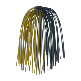 Dekoi Jigging Skirts, Camo, 5 pack